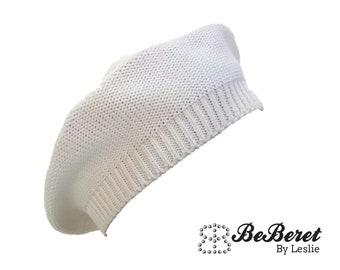 949fb868a4ddbe Off-White BeBeret Original French Beret Knit inspired basque Beret