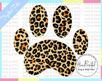 Cheetah Paw Print Etsy The cheetah is the fastest land animal in the world. etsy