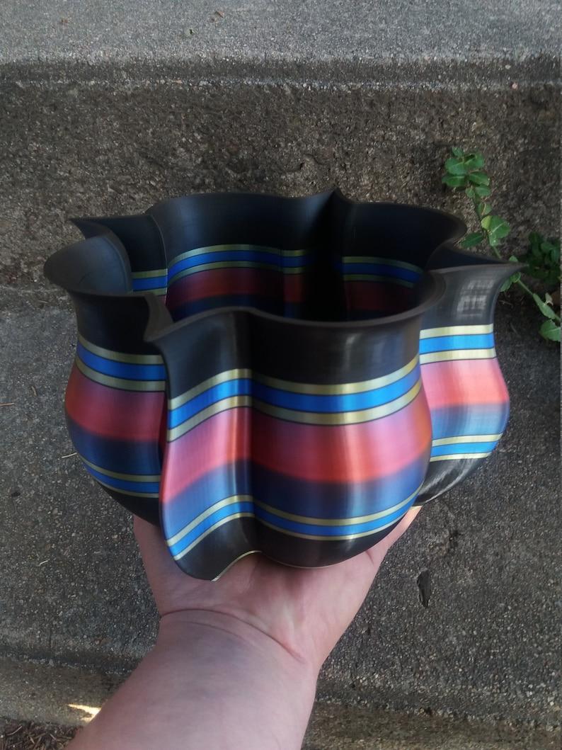 Scalloped Medallion Planter 3DPrintsforPlants! Unique 3D Printed Planter