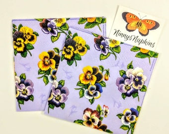 Flowers 33x33cms 20 x Lunch Paper Napkins//Serviettes Emma Bridgewater