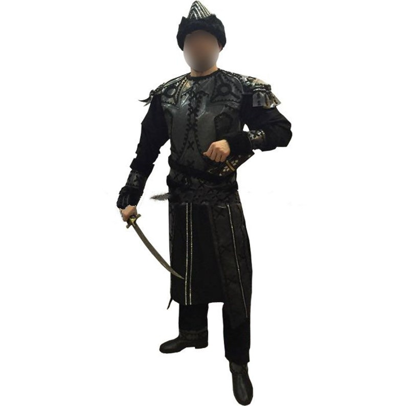 Green Arrow Malcolm Merlyn Dark Archer Costume Halloween Cosplay Battle Suit Set
