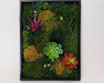 Floral Moss Art Collection | Rendezvous