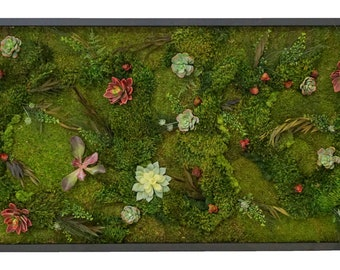 Floral Moss Art Collection |Meadow