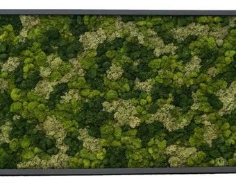Floral Moss Art Collection | Mosaic