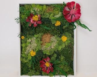 Floral Moss Art Collection | Fiesta
