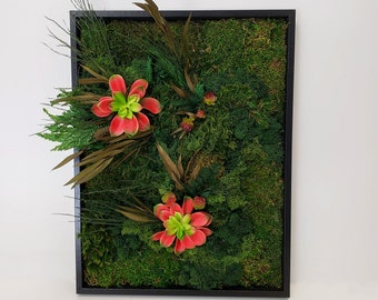 Floral Moss Art Collection | Twin Peaks