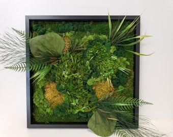 Floral Moss Art Collection | Everglade