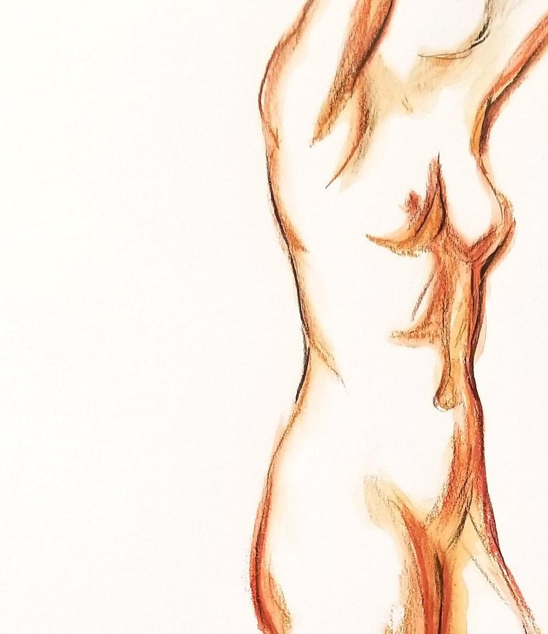 Expressive Nude Model