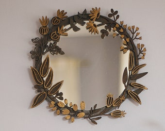 Small Wall Mirror Etsy