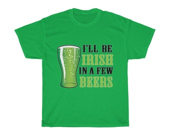 c0309950 Unisex Heavy Cotton Tee-Irish Beer