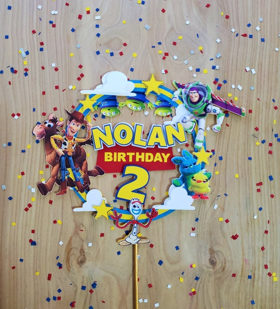 Woody cake topper toy story inspired cake topper cake topper cake decoration birthday decoration