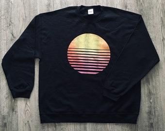 da5cc0282c1a Shutter Sun Black XL Sweatshirt