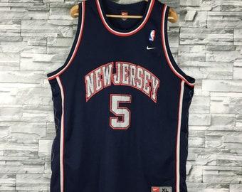 brand new 9a9eb 61250 New jersey nets   Etsy