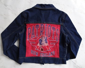 best loved d16a0 39f6e Patriots jacket | Etsy
