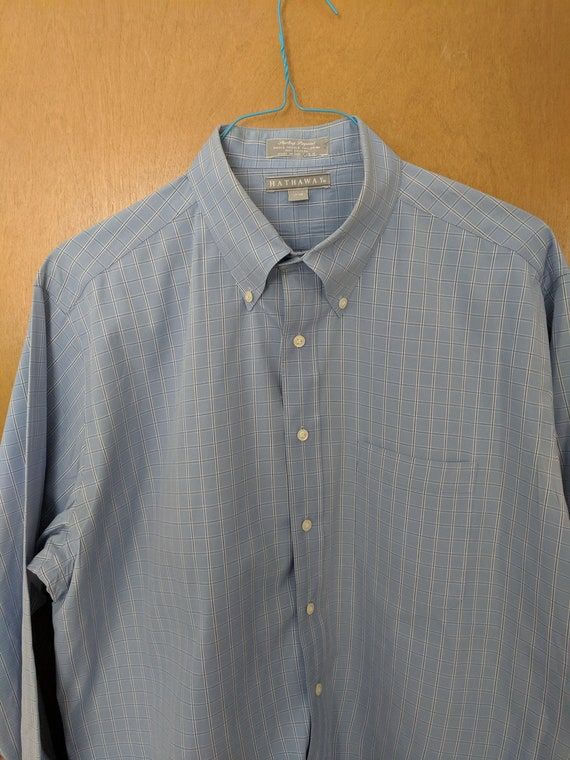 Vintage Long Sleeve Button Down Shirt TWO PACK from Hathaway