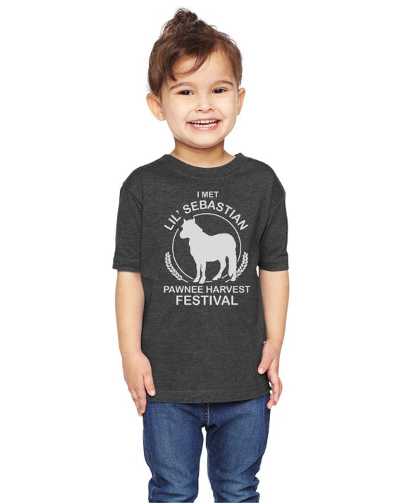 I Met Lil Sebastian Parks And Rec Unisex Youth Shirt