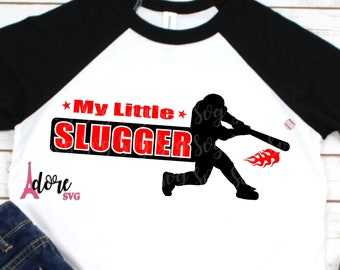 Little slugger svg,baseball svg,ball svg,toddler svg,baseball bat svg,batter svg,ballet svg,ball team svg,tshirt svg,adore svg,bat swing svg