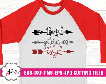 thankful grateful blessed svg, thankful svg, Fall SVG, feather svg, autumn svg, Thanksgiving svg, Digital Download, commercial use, svgs,dxf