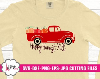 Harvest svg, Farming svg, Harvest svg, farm svg,iron on, tractor, Fall SVG, rustic svg, Thanksgiving svg, Digital, commercial use, dxf, eps