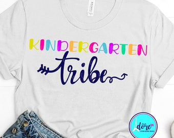 kindergarten svg,first day of school svg,school svg,my tribe svg,teacher,svg for cricut,beginning of year,kinder garten svg,back to school