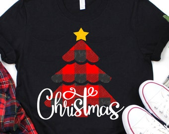plaid tree svg,christmas tree svg, Christmas svg, tree svg, SVG, DXF, EPS, Christmas saying svg,svg for cricut,southern Christmas svg