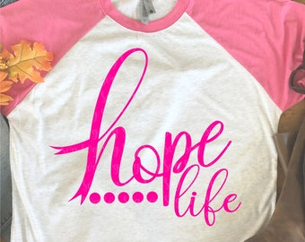 hope life svg, svg, svg, dxf, eps, breast cancer svg, hope svg, cheer svg, ribbon svg, hope svg, breast cancer,svg for cricut,awareness svg