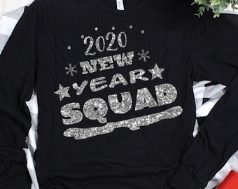 squad new year svg,New Year svg,hot mess svg,Happy New Year svg,New Year Shirt svg,New Year Tshirt,svg for cricut,2020 happy new year svg