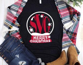 snowglobe merry christmas Svg, Christmas Svg, Christ Svg, monogram svg,Christmas time Svg,christmas Svg Cut Files, christmas Svg Design