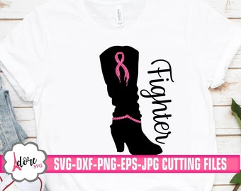 fighter cancer svg, awareness SVG, breast cancer svg, tshirt svg, cancer survivor svg, kick cancer svg, cricut designs, silhouette designs
