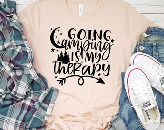 going camping is my therapy svg, campfire svg, Camping Svg, Adventure Svg, Traveling Svg, Camper Svg, Camping svg designs, Cricut cut file