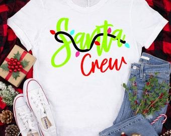 santa crew svg,Christmas crew svg,Christmas crew,teacher svg,Christmas svg design, Christmas cut file, svg for cricut
