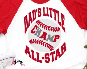 dads champ svg ,all star champ svg svg,SVG cut file,Boy Baseball svg,T ball svg,baseball cut file,baseball shirt,cameo,svg for cricut