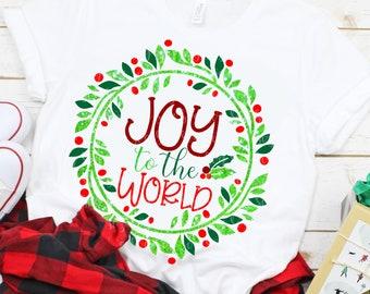 joy to the world svg, joy SVG, svg, christmas, saying svg, Christmas svg, religious svg, holly berry svg,Digital, dxf, eps,svg for cricut