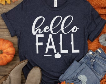 Hello Fall Svg, Fall Svg, Fall Quote, Seasons, Fall Saying, Fall Svg Designs, Fall Cut Files, cut files,cricut svg,svg for mobile,mobile svg