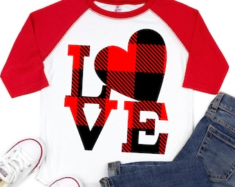 love svg, plaid love svg,love heart svg,love you svg, valentine svg,eps,Files for Cutting Machines Cameo Cricut,svg for cricut,valentine day