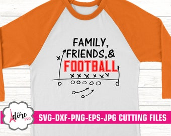 family friends and football svg, football svg, football svg,svg for cricut,eps,digital download,cricut,adore svg,football mom, dxf