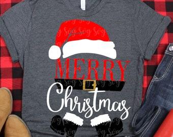 santa claus svg, christmas svg,santa hat svg,Merry Christmas svg, santa svg,dxf,eps,santa belt svg,svg for cricut,christmas santa svg