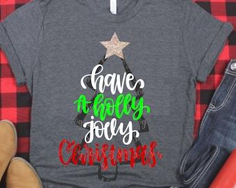 have a holly jolly christmas svg, christmas tree svg,tree svg,Christmas svg,Holiday svg,Christmas,Christmas svg,svg for cricut, girlie svg