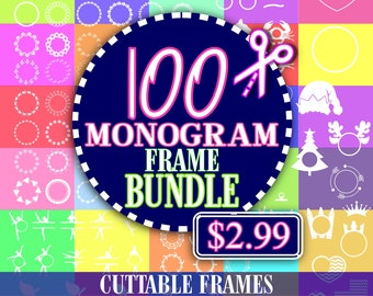 Monogram frame Bundle svg, Frame Bundle, cricut bundle, svg font, monogram bundle svg, svg Monogram Frame, svg for Cricut,monogram frames