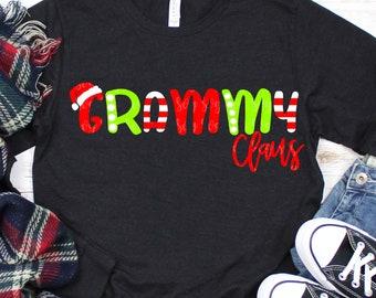 grammy claus svg,christmas grammy svg,grammy svg, santa hat svg, christmas, svg, dxf, svg files,svg for Cricut,christmas svg,santa claus svg