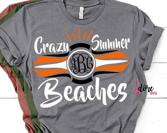 Harley svg,Crazy Summer Svg,Beach SVG,Family Svg,Tshirt Svg,SUMMER,Motorcycle Svg,vacation svg,Bike svg,Monogram svg,svg monogram
