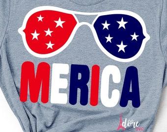 Merica shades svg,4th of july svg,independence day svg,military svg,tshirt svg,american flag svg,july 4th svg,flag svg,cricut svg