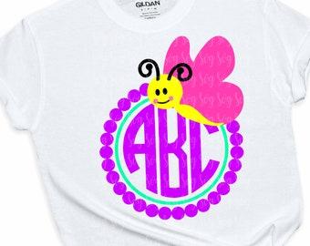 Butterfly svg, Butterfly monogram svg, cute butterfly svg, girls monogram,kid monogram, Butterfly SVG, Monogram Frame,svg for cricut