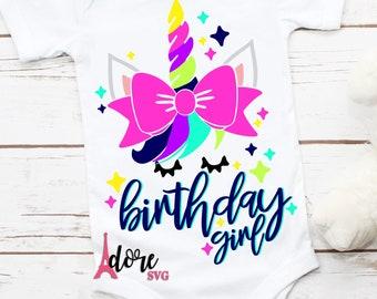 Birthday girl svg,unicorn svg,unicorn svg,unicorn face svg,unicorn birthday svg,svg unicorn,svg for cricut,unicorn face svg,unicorn shirt