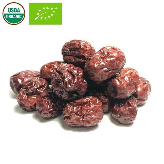 Organic Jujube Fruit Slices Ziziphus jujuba Natural Apothecary Wicca Herb