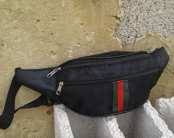 eaa903589b2 Gucci belt waist pack black