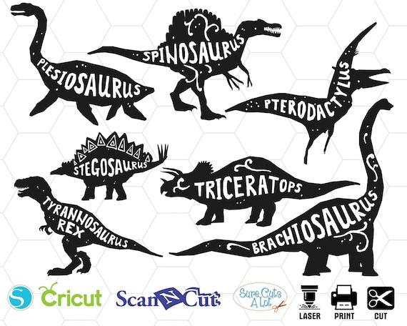 Dinosaur Svg Dinosaur Clipart T Rex Svg Dino Svg Dinosaur Etsy