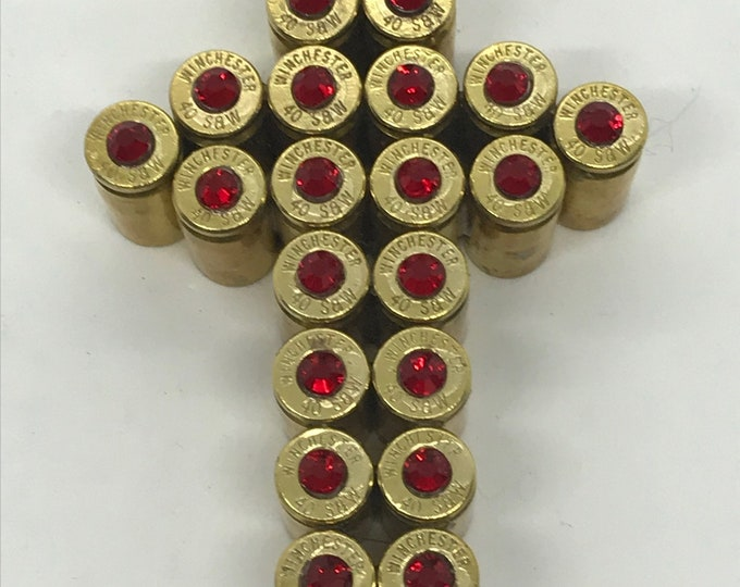 Christmas Ornament Easter 40 Smith /& Wesson Bullet Cross