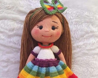 23d79bdcf Knitted doll