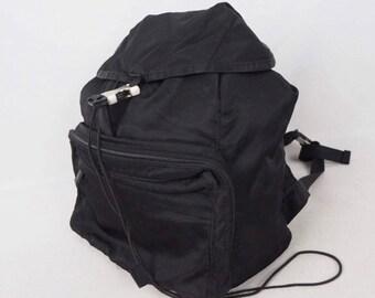 fc3ffc40e320 Vintage PRADA nylon backpack